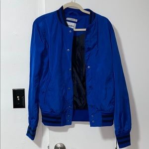 Men's blue bomber jacket size small